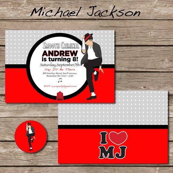 25+ Best Ideas About Michael Jackson Party On Pinterest