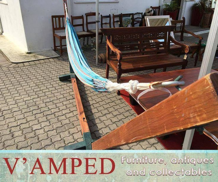 Enjoy the sun in the comfort of your backyard with this comfortable and relaxing Hammock and stand, available from #VampedFurniture. Contact Rory on 076 983 4008 for more information. Delivery available nationwide on arrangement.