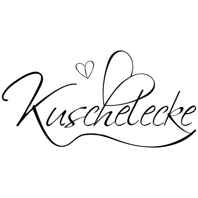 Wandtattoo »Kuschelecke«
