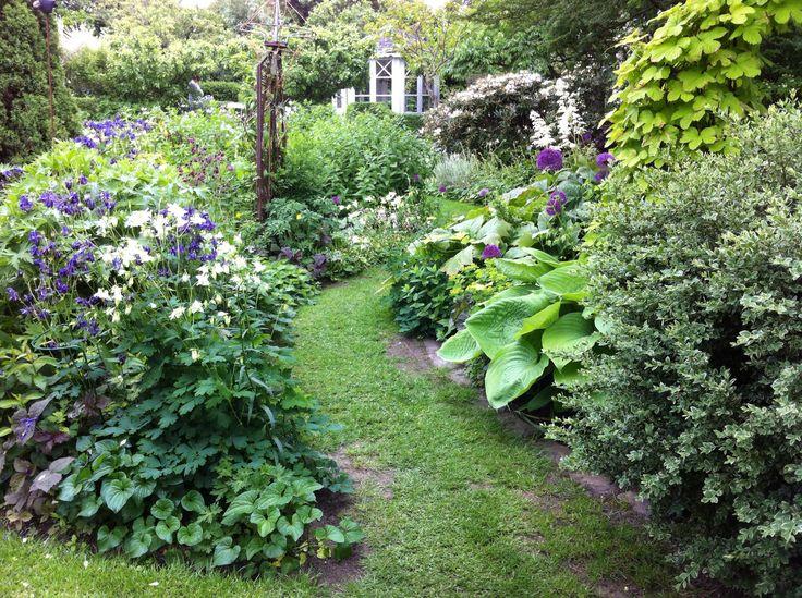 Garden in South Sweden.