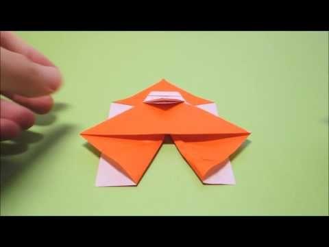 折り紙で立つサンタクロースの作り方・折り方|立体サンタ | 自由研究テーマとまとめ方