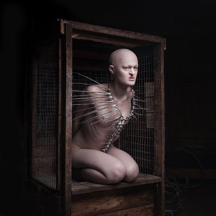 "melanie gaydos: ""Photographer: Sylwia Makris for Nika Danielska Design, MUA Dolly's World of Make-Up. """