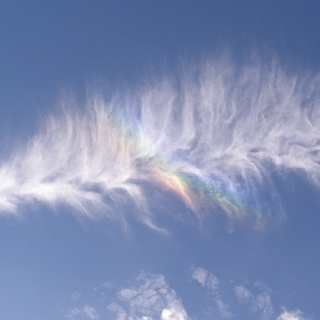 Rainbow Feather Cloud | ☁☁☁ Look Up At the Clouds ☁☁☁ in ...