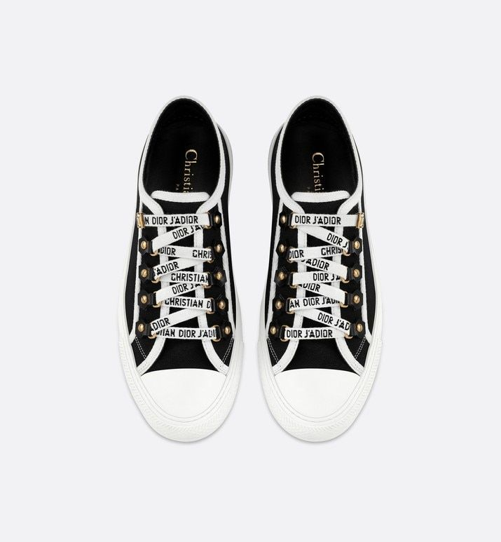 Dior sneakers, Black canvas shoes