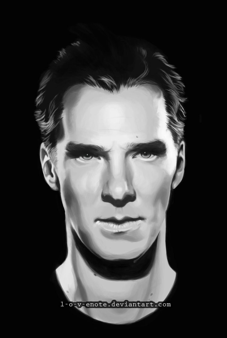 www.deviantart  Search by image Benedict Cumberbatch as Khan Noonien Singh by l-o-v-eNOTE