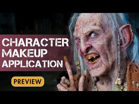 Makeup Effects Tutorial - Character Makeup: Multi-Piece Prosthetic Application with Bruce Spaulding Fuller