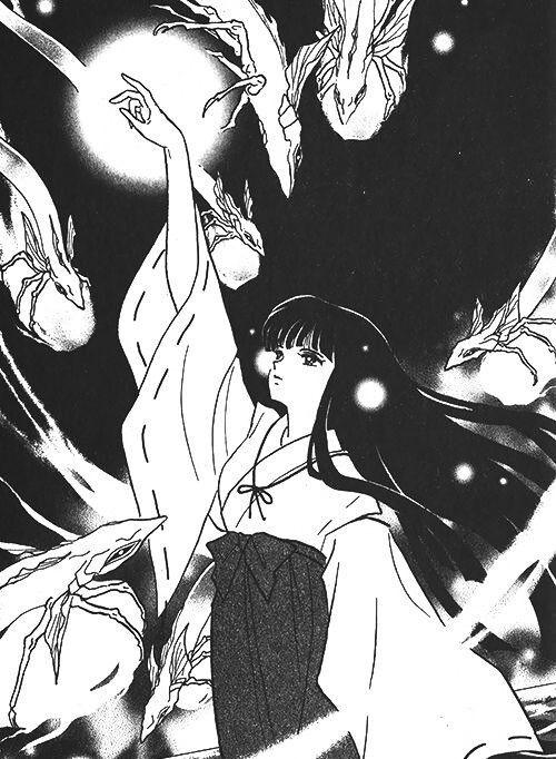 Inuyasha Kikyo Manga