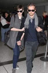 Anne Hathaway and Adam Schulman