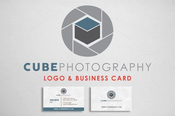 Check out Photography Logo & Bcard by Domo Designs on Creative Market