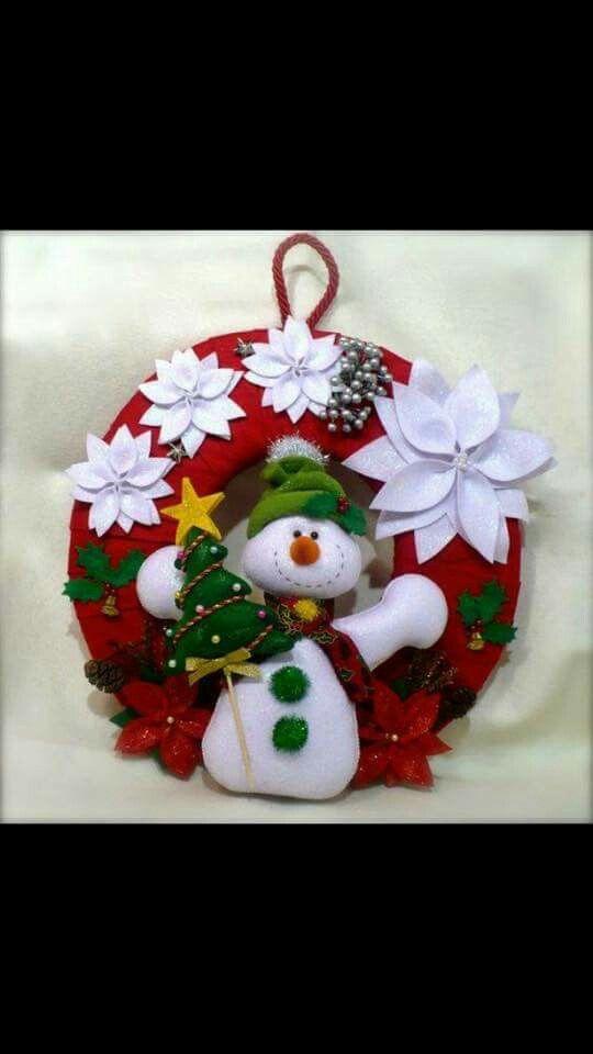 Corona muñeco de nieve ☃⛄