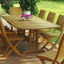 Les Jardins #Patio Furniture - Sillage Dining Set - Sheridan Nurseries. For more inspiration, visit us at: http://www.sheridannurseries.com/products_and_services/outdoor_living