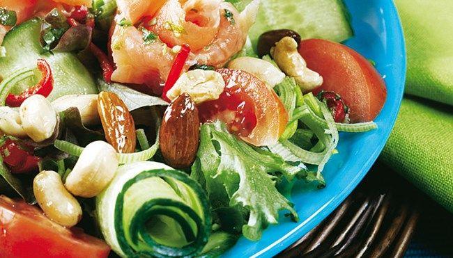 Lohisalaatti Thaimaalaisittain - K-ruoka