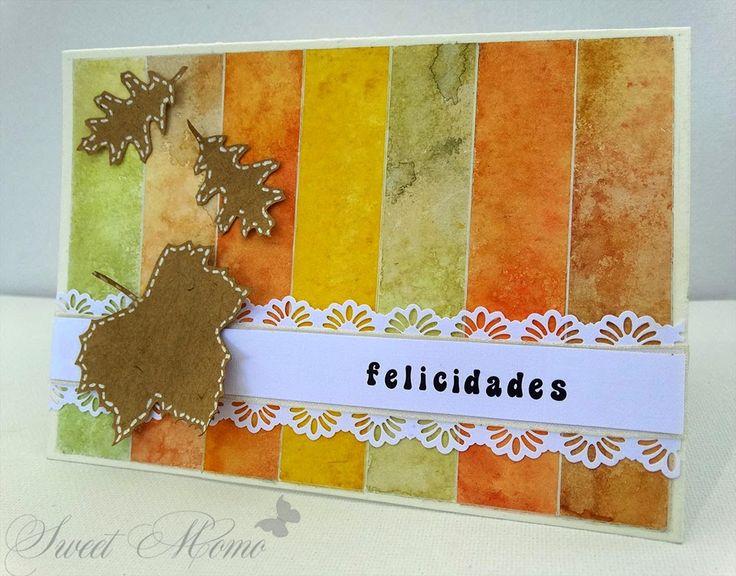 Tarjeta de otoño para reto YOY Puedes encontrarla en mi blog http://sweetmomito.blogspot.com/