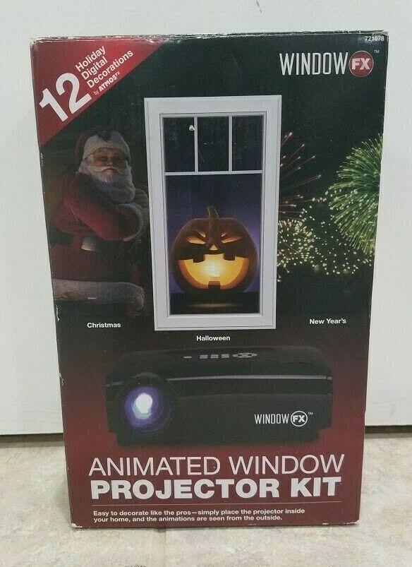 Windowfx Atmos Animated Window Projector Kit Fireworks