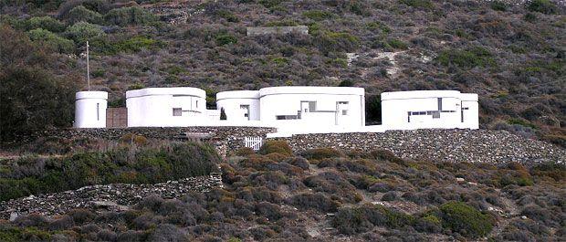 xenakis house, amorgos, cyclades , greece