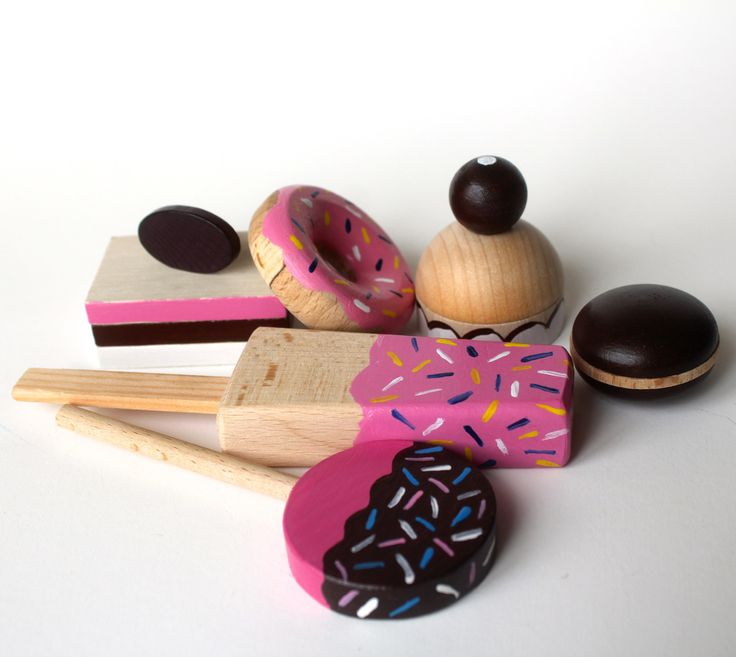 wooden sweets