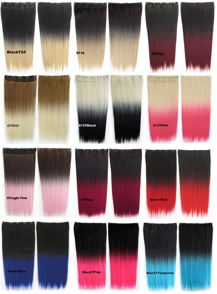 25 unique synthetic hair extensions ideas on pinterest jumbo new 24inch 130g straight clip in synthetic hair extension gradient color unbranded hairextension pmusecretfo Choice Image