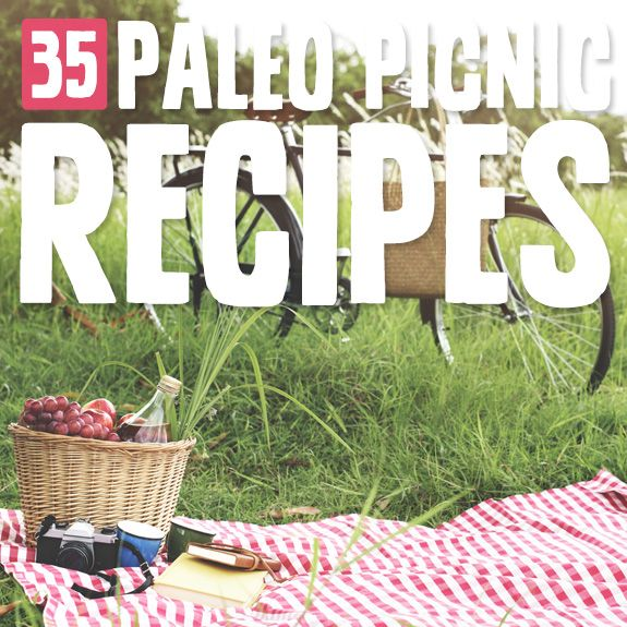 After trying out these Paleo picnic recipes I just had to have a picnic! Perfect choices for a meal outside in the fresh air with friends and family.