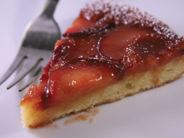 Plum Upside-down Cake | Recipe by Annabelle White