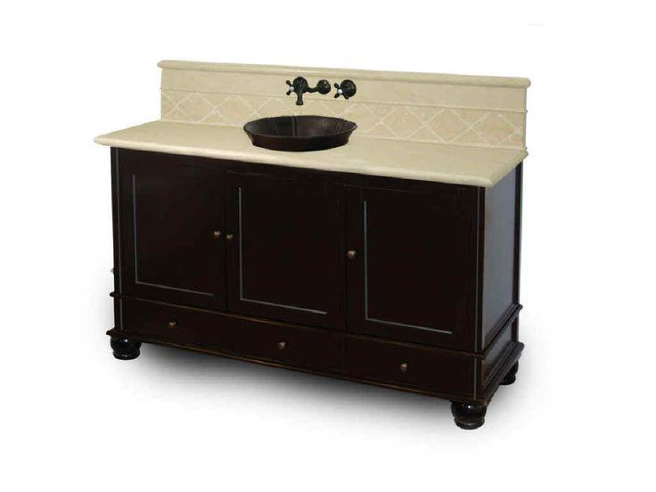 Black Vanity Cabinet Vessel Sink: 21 Best Half Bath Images On Pinterest