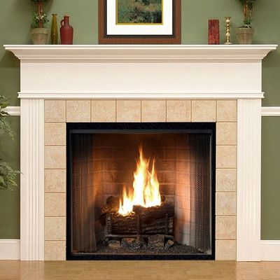 Found it at Wayfair - Monticello Fireplace Mantel Surround - 17 Best Ideas About Fireplace Mantel Surrounds On Pinterest