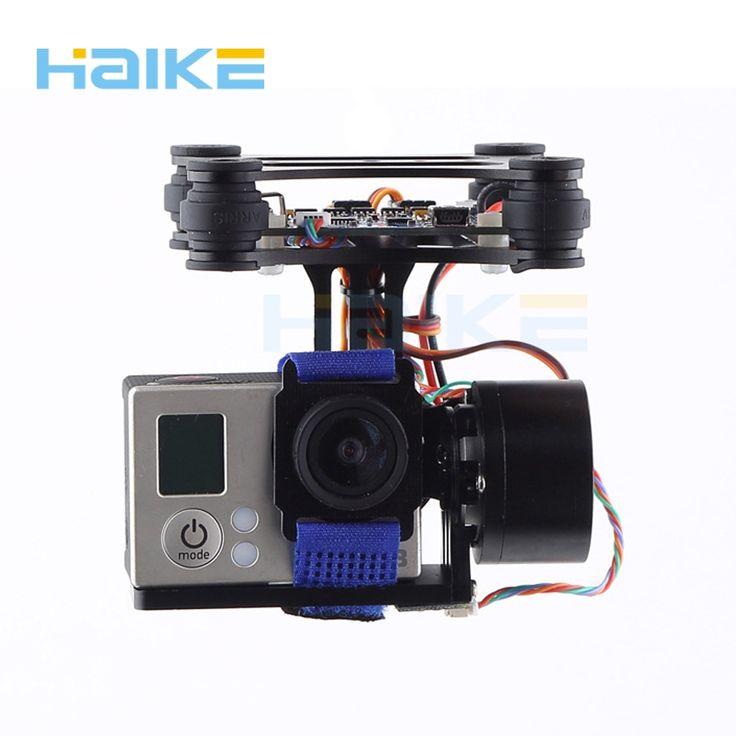 (44.98$)  Watch now  - HAIKE CNC FPV Quadcopter BGC 2 Axis Brushless Gimbal with Controller for GoPro 3 Camera DJI Phantom 1 2 Walkera X350 Pro