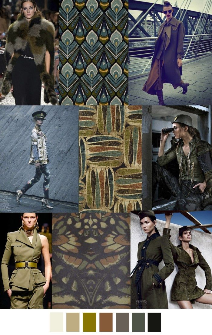 F/W 2017-2018 pattern & colors trends: G.I. JANE