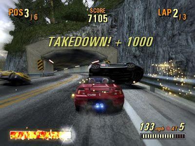 Kode Cheat Burnout 3: Takedown PS2 Lengkap