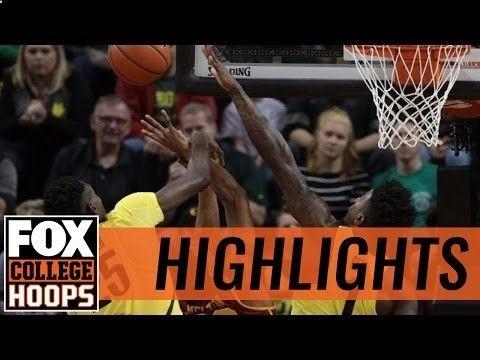(21) Oregon Ducks defeat (22) USC Trojans   2016 COLLEGE BASKETBALL HIGHLIGHTS