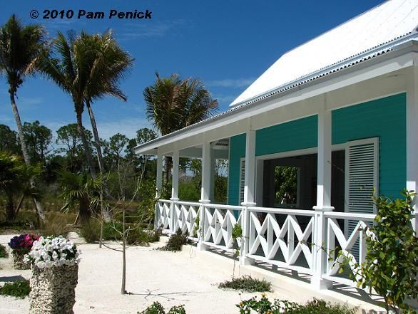 Caribbean House Paint Combinations AND I Love The Woodwork In The Railings