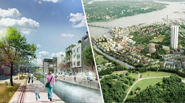 La « smart city » est en train de voir le jour dans la capitale Suédoise.La suite sur mrmondialisation.org