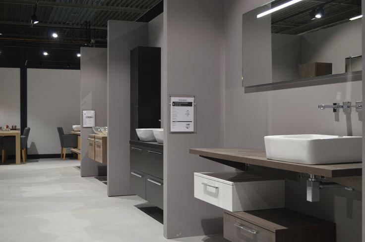 Badkamer inspiratie showroom, tegelshowroom, sanitair