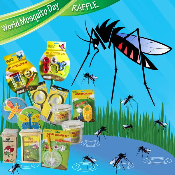WORLD MOSQUITO DAY Giveaway!