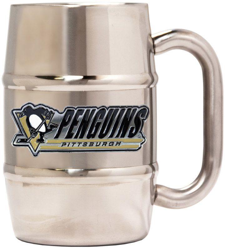 Kohl's Pittsburgh Penguins Stainless Steel Barrel Mug