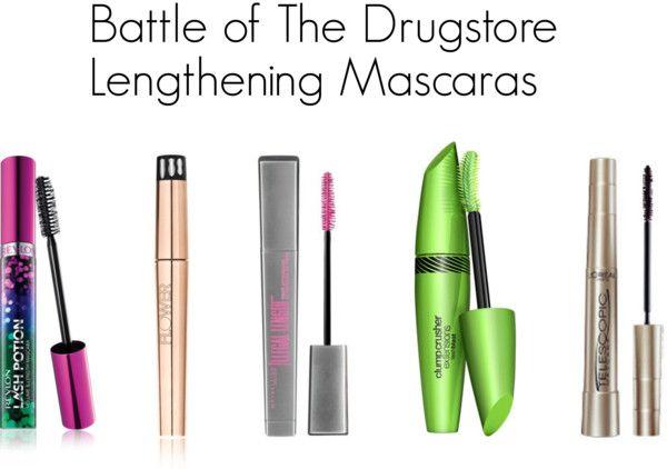 Drugstore Dash: The Best Lengthening Mascara - Politics of Pretty #bbloggers #drugstorebeauty