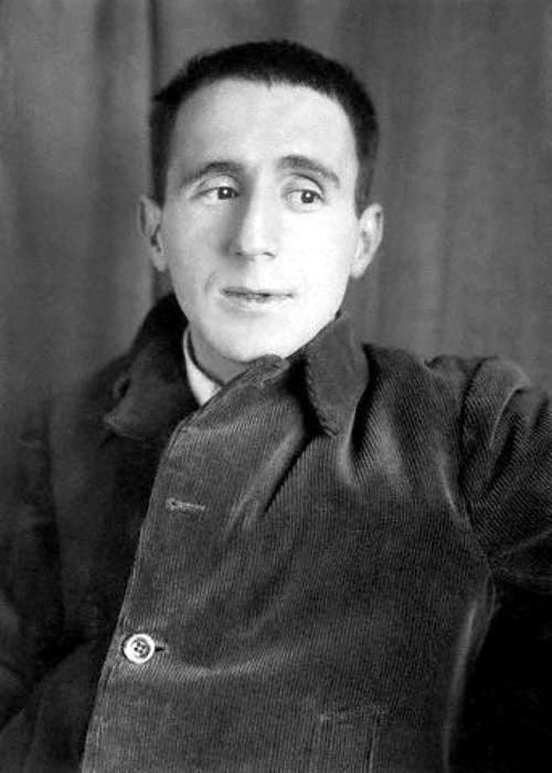 Bertolt Brecht (February 10, 1898 - August 14, 1956) German poet, writer, stagewriter and stagedirector.