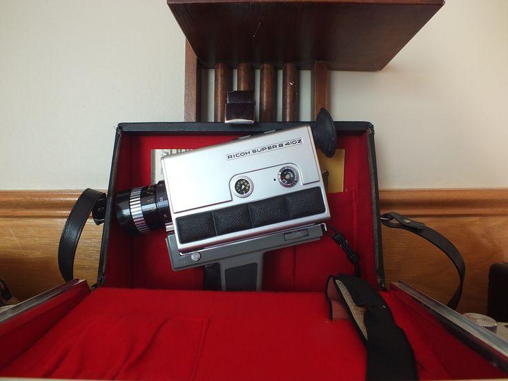Ricoh Super 8 410Z movie camera!