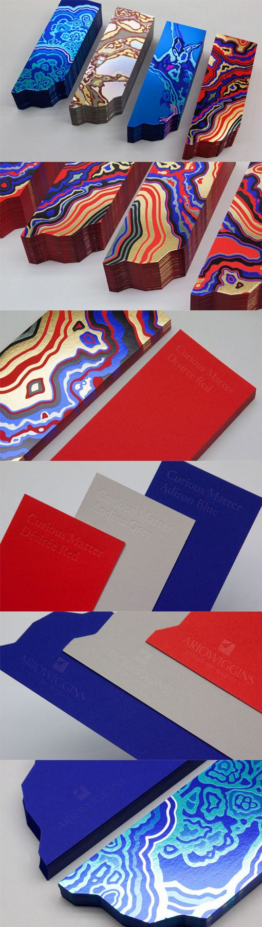 Incredible Foil Effects On A Letterpress And Die Cut Business Card
