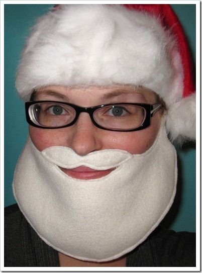 DIY Santa beard: Snazzl Crafts, Fashion Crafts, Crafts Refashion, Diy Fashion, Felt Beards, New Year, Easy Santa, Santa Beards, Free Patterns