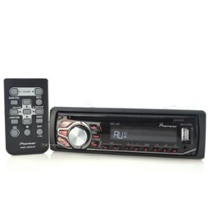 Connect iPhone to car stereo with this:  New Pioneer Car Stereo Deh-X2600Ui Cd Mp3 Aux Usb Iphone Car Audio Dehx2600Ui...for connecting