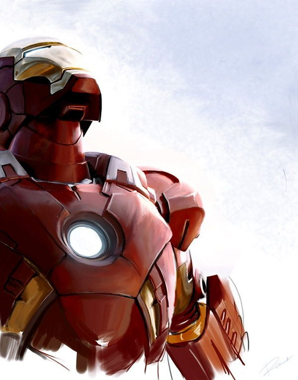 I love the sharpness of the detail, we're talking Alex Ross, then it fades into the yet to be... -Armor  Iron Man by MaryRiotJane