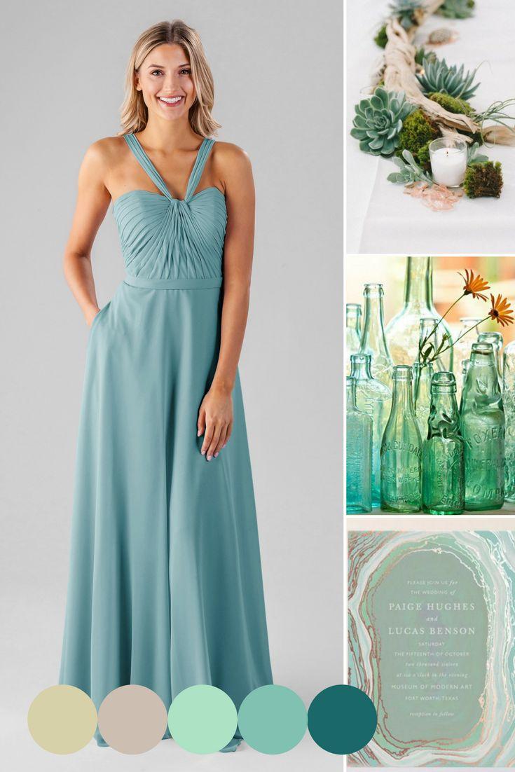 94 best Spring Wedding Fashion images on Pinterest | Blue dresses ...