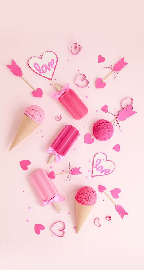 Love Pink Wallpaper Iphone Iphonewallpapers Pinterest Pink