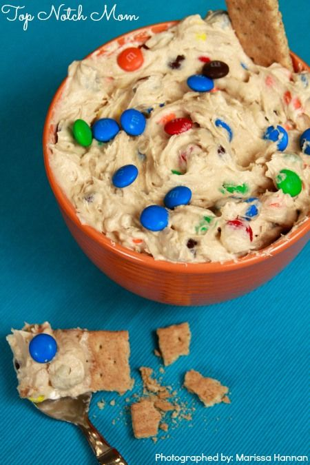 Cookie Monster Dip | Top Notch Mom