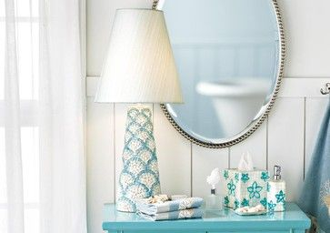 tropical table | Shell Mosaic Lamp tropical table lamps