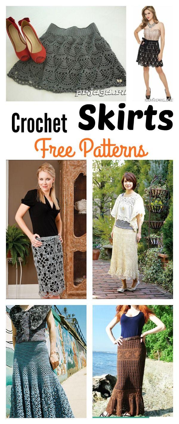 Crochet Skirts Free Patterns
