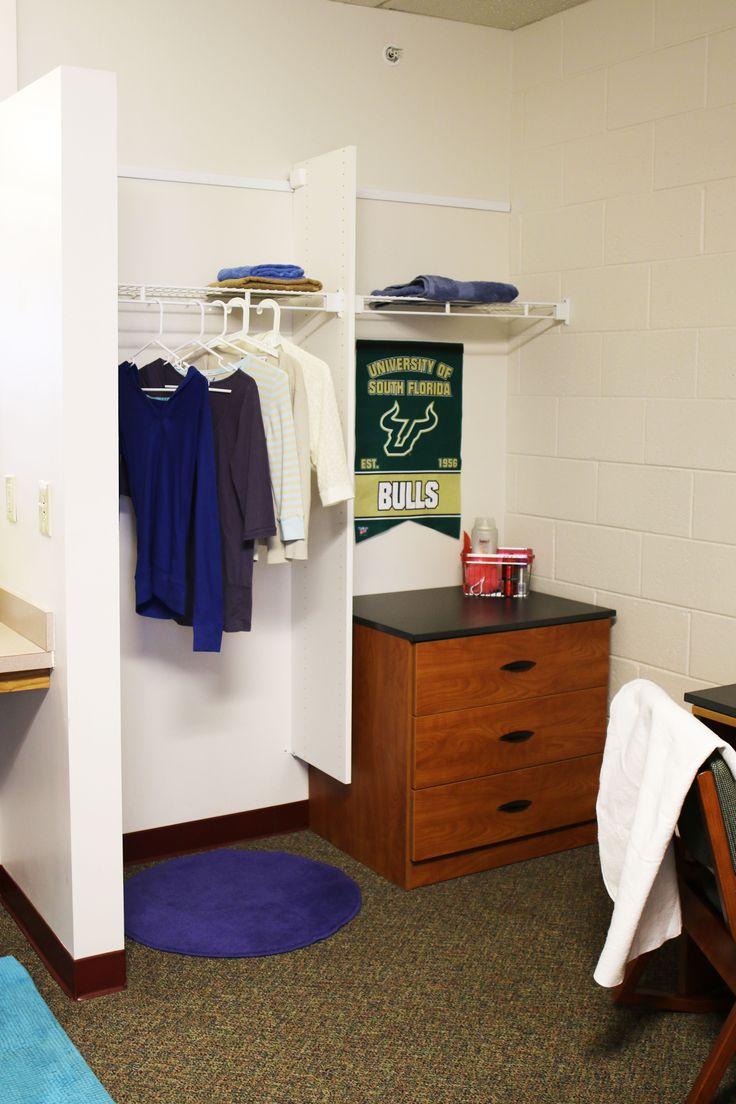 Dorm Room Closet: Dorm Room Storage, Dorm Room