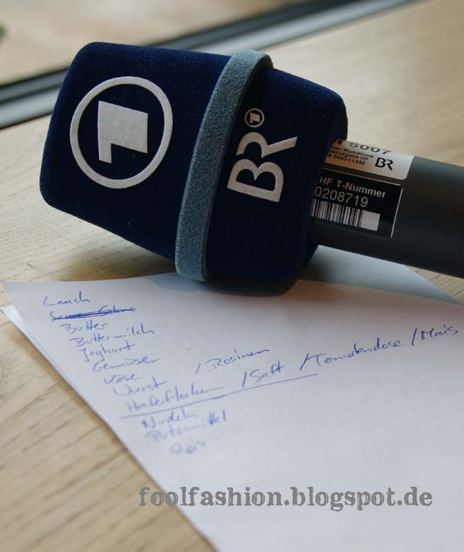 fool fashion - plastikfrei leben: Save the date: foolfashion im Radio