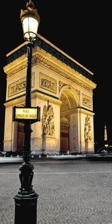 Arc de Triumph~  Paris Nights I Posters por Jeff Maihara na AllPosters.com.br