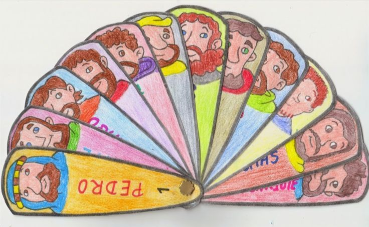 Jesus and his twelve disciples crafts